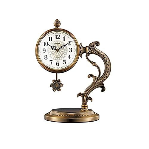 XBYUNDING Reloj de Manta con Reloj Multifuncional Multifuncional Reloj Reloj Recepción Mute Desktop Battery Powered,Decor Regal,Reloj especializado Adecuado como Regalos para Amigos