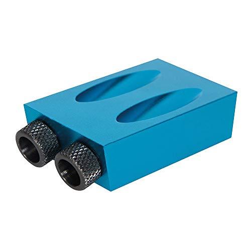 Silverline 868549 Pocket Hole Jig 6, 8 und 10 mm