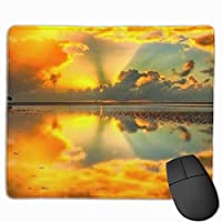 """Beautiful Sunset Mouse Pad Non-Slip Rubber Gaming Mouse Pad Rectangle Mouse Pads for Computers Desktops Laptop 9.8"""" x 11.8"""""""
