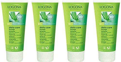 Logona daily care Duschgel Bio-Aloe + Verveine 6x200ml