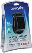 DigiPower TC-500C Travel Charger for Canon NB Series Batteries
