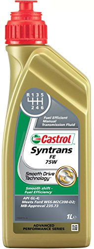 Castrol Syntrans Fe Huile de boîte manuelle 75W, 1L