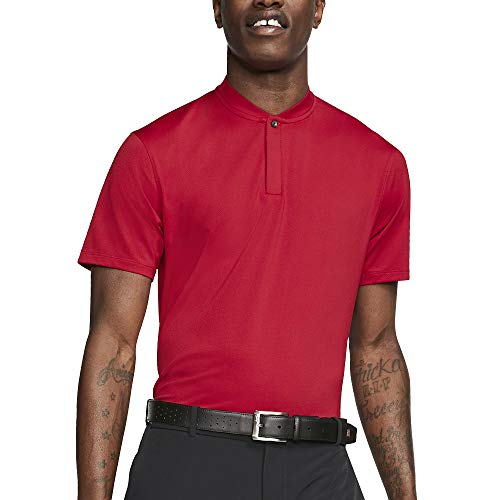 Nike TW Dri Fit Blade OLC Golf Polo 2019 Gym Red Large