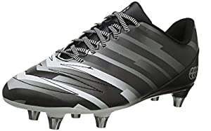 canterbury of New Zealand Unisex Kid's Stampede 2.0 Soft Ground Rugby Boots, Black (Black/Flag Red/Blue Aster Junior Unisex), 5.5 (38.5 EU) from Canterbury