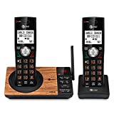 AT&T CL82267 DECT 6.0 2-Handset Cordless Phone for Home with Answering Machine,...