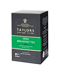 A strong, rich blend of Assam and east African teas. A traditional Irish blend of top quality Assam and east African teas, It has a wonderfully robust flavour, strong and rich, with a bright, rosy liquor in the cup. Our Irish breakfast tea is an abso...