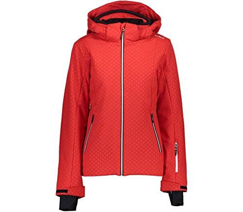 CMP Damen Softshell Zip Jacke Skijacke Wintersport Jacke