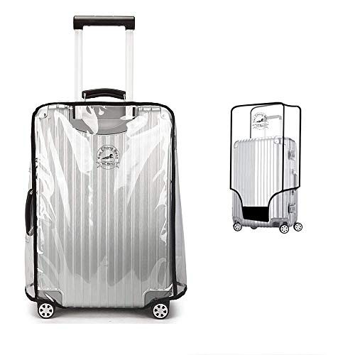 PVC Luggage Protector Cover Clear Suitcase Cover Protector Transparent Protective Case Cover