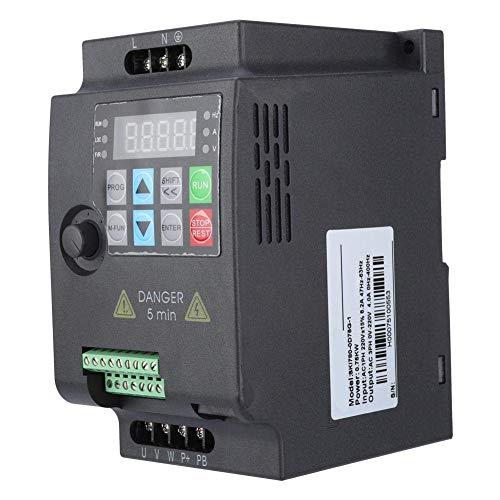 Convertisseur de fréquence SKI780220V/380V 0.75/1.5/2.2KW Convertisseur de fréquence Mini VFD pour Moteur(220VAC 0.75kW)