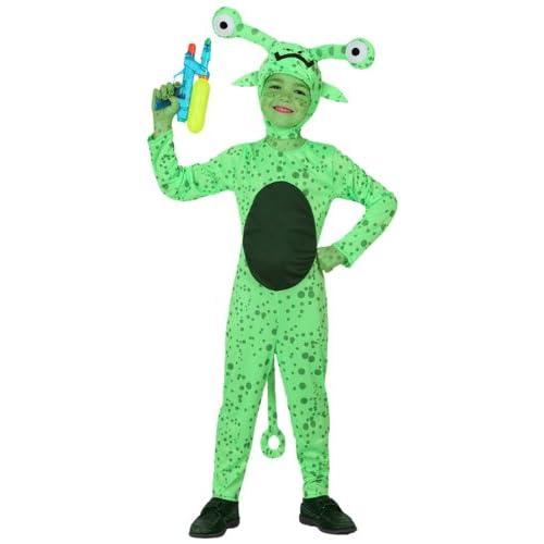 Atosa 8422259160861 - Costume da alieno Bambino, taglia: 104 cm