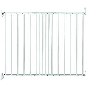 Verja de Metal Extensible de Safetots Blanco 62.5 cm. - 106.8 cm