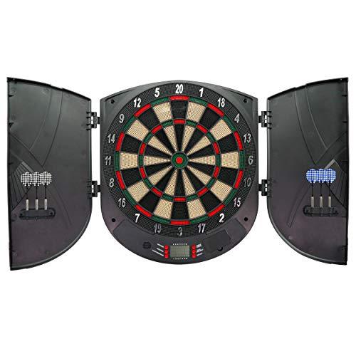 Best Sporting elektrische Dartscheibe LCD Kabinett Brighton, batteriebetrieben