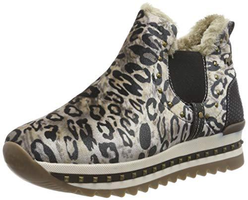 MUSTANG Damen 1347-401-4 Slip On Sneaker, Beige (Beige 4), 38 EU