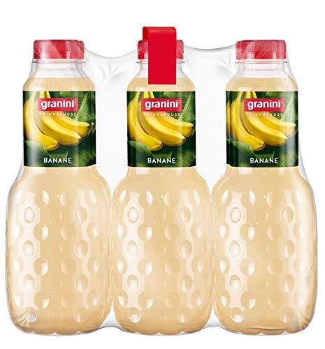 granini Trinkgenuss Bananen-Nektar, 6er Pack (6 x 1 l) Flasche