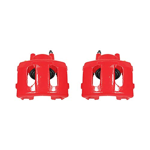 Power Stop S4339 Performance Powder Coated Brake Caliper Set For Jeep
