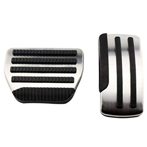 Armlehnen-Haltegriff Auto-Pedal-Fuß Rrest Kraftstoff Bremskupplungsdeckel Zubehör Gas-Pedal-Kit (Color Name : AT 2pcs)