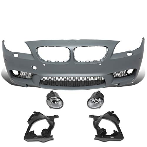 Price comparison product image DNA Motoring BUMP-F-F10-M5 M5 Style Front Bumper+PDC+Fog Light [For 11-16 BMW 5-Series F10]