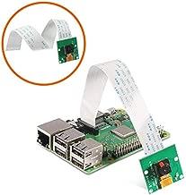 Aokin Raspberry Pi Camera Module 5MP 1080p OV5647 Sensor Video Webcam Compatible with 6inch 15Pin Ribbon Cable for Raspberry Pi Model A/B/B+,Pi 2 and Raspberry Pi 2.3,3B+ and Pi 4