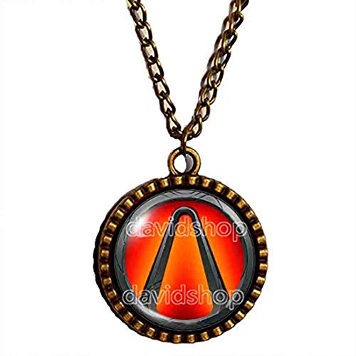 Handmade Fashion Jewelry Symbol Borderlands Vault Necklace Pendant Cosplay