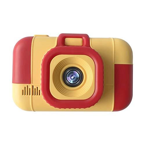 Cámara Infantil Foto de Alta definición Doble cámara Photo Children Digital Cámara Bebé Juguete (Color : Red Yellow)