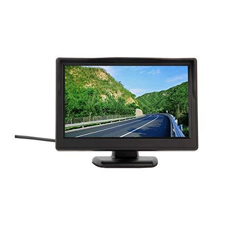 GOFORJUMP Date 800 * 480 5 Pouces de Voiture TFT LCD Moniteur Écran Moniteur Vidéo pour TV Rearview Reverse Caméra de recul DVD VCR 12 V