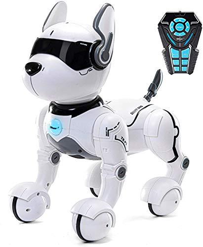 Control Remoto Robot Dog Toy, Robots para niños, RC Zoomer Dog Robot...
