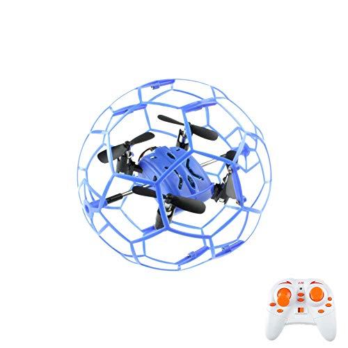 4,5canaux RC ferngesteuertes modèle d'UFO, cage de protection, Drone Quadcopter Multicopter avec Technologie 2,4GHz, 6Axis Gyro 3D, Ready to Fly Kit complet avec kit de Crash de