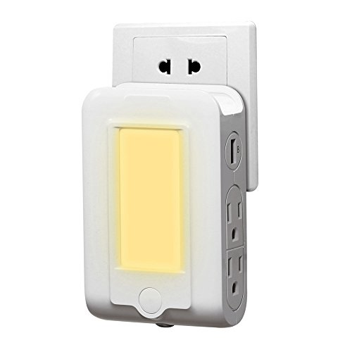 USB Dual OUTLETS PORTS for TOYOTA Phone Charging Station with LED Night Light