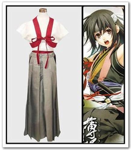 Sunkee Hakuouki Cosplay Harada Sanosuke Kostüm, Größe M( Alle Größe Sind Wie Beschreibung Gesagt, überprüfen Sie Bitte Die Grüntabelle Vor Der Bestellung )