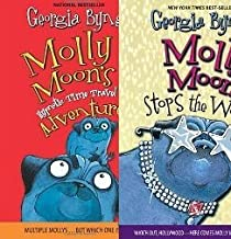 Molly Moon Set of 2 Books (Molly Moon Stops the World ~ Molly Moon's Hypnotic Time Travel Adventure)