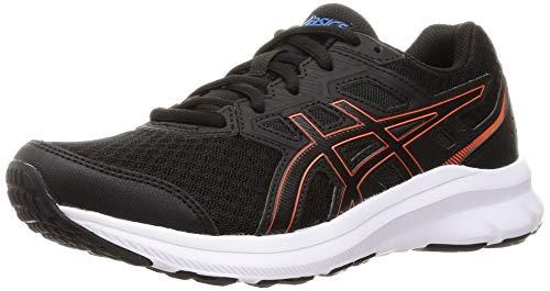 Asics Jolt 3, Road Running Shoe Hombre, Black/Reborn Blue, 43.5 EU