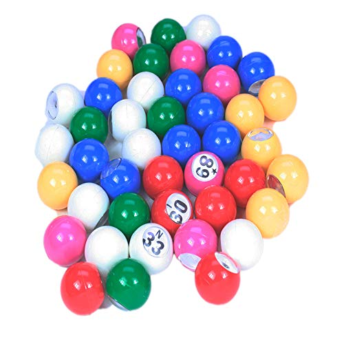 ClubKing Ltd Bingo Balls, 22mm