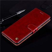حافظات KINGCOM-Wallet - حافظة جلدية قابلة للطي لهاتف Lenovo Z5s A5 K5 Play Plus K5s S5 K520 K6 Power K9 K10 Note Z6 Pro Play Lite K3 Note Fundas Lenovo K5 Play AFTS-4000805448661-055