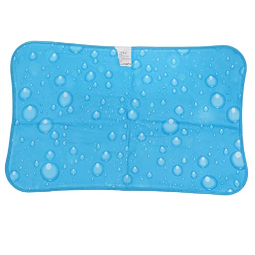 Sharplace Hochwertiges Kopfkissen Eiskissen Kühlkissen Kissen Wasserkissen für Reisen oder Outdoor-Aktivitäten - Hellblau