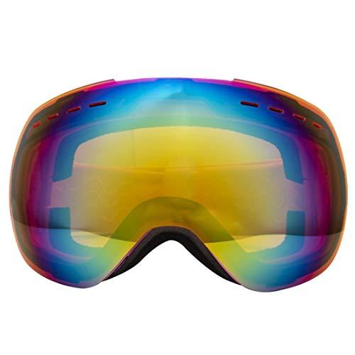FENXIMEI Ski Goggles, Winter Sneeuw Sport Snowboard Over Bril Gogggles Met Anti-mist UV-bescherming Dubbele Lens 5 Kleuren kunnen worden Kies