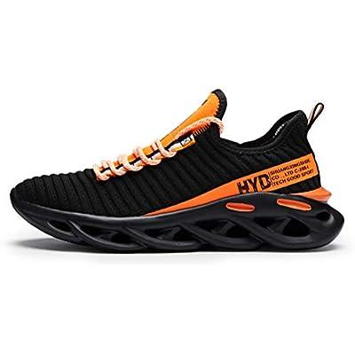 Ahico Zapatillas de Deporte de Moda para Hombre Zapatos para Caminar Zapatillas Deportivas Transpirables para Exteriores Zapatillas Deportivas de Gimnasio Deportivo Zapatillas de Deporte Casuales