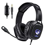 Stereo Gaming Headset with Microphone for Xbox One, PS4 and PC, USB Gaming