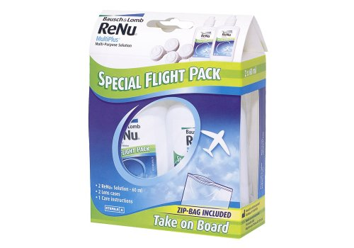 Renu MultiPlus - Fresh Lens Comfort Special Flight Pack