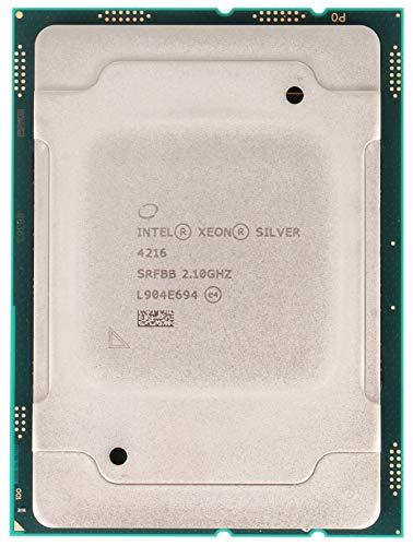 Intel Procesador Xeon Silver 4216 16 Core 2.10GHZ 22MB 100W CPU CD8069504213901 (procesador de bandeja OEM)