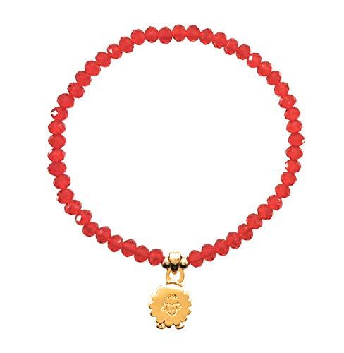 Pulsera Borreguito cristal – Borrego de la abundancia – Amuleto de la suerte – Fortuna – detalle especial…