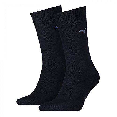 PUMA Herren Classic Casual Business Socken 4er Pack (43-46, navy / navy)
