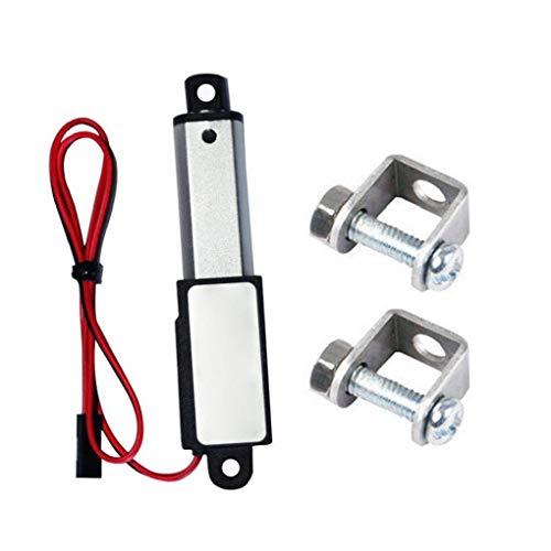 Micro Linear Actuator Mini Electric Wasserdicht Mit Montagewinkel 12v 60n Stroke Länge 30mm Geschwindigkeit 15mm Für Heim Und Outdoor