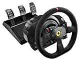 Thrustmaster T300 Ferrari Integral Alcantara Edition - Volante para PS4/PS3/PC - Force Feedback, 3...