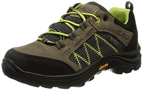 CMP Kids Shoe, Scarpe da Trekking Thiamat Low 2.0 WP Unisex-Bambini, Castoro, 38 EU