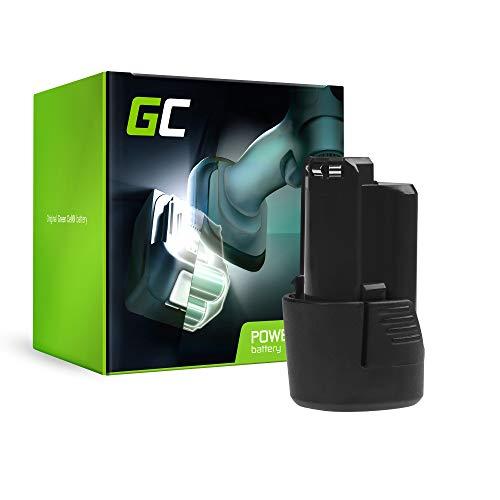 GC® (2Ah 10.8V Li-Ion) GBA 12V BAT411 BAT415 1600Z0002X 1600Z0002Y 1600A00X79 2 607 336 013 2 607 336 014 Batería para Bosch Professional GBA GDR GMF GSR GSB GKS GST 10.8 V-LI V-LI2