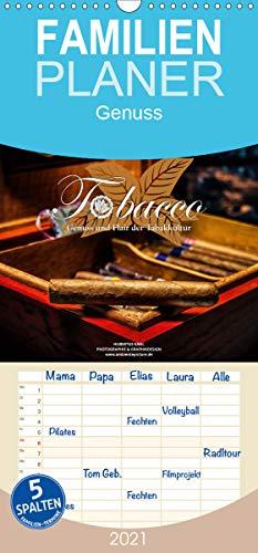 Tobacco - Genuss und Flair der Tabakkultur - Familienplaner hoch (Wandkalender 2021, 21 cm x 45 cm, hoch)