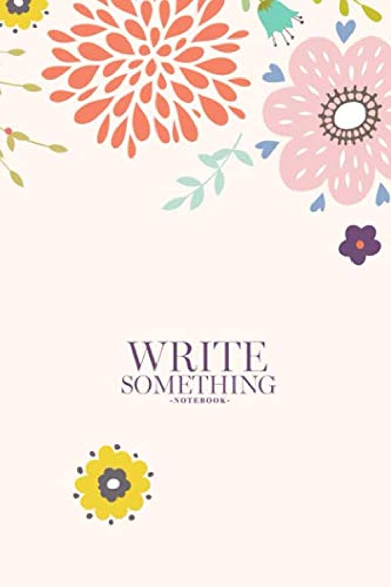 Notebook - Write something: Happy Easter templates in Scandinavian style notebook, Daily Journal, Composition Book Journal, College Ruled Paper, 6 x 9 inches (100sheets)