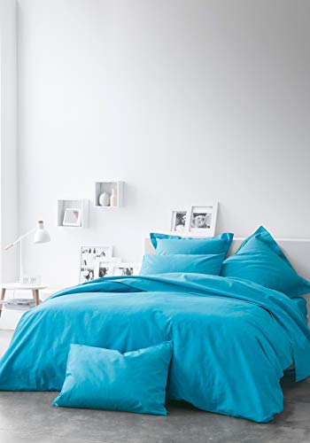 Today Drap Plat 100% Coton-Zinc-240x300 cm