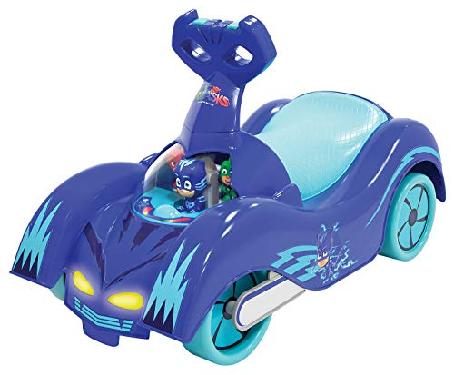 PJ Masks Kids Cat-Car Ride-On for Girls and Boys