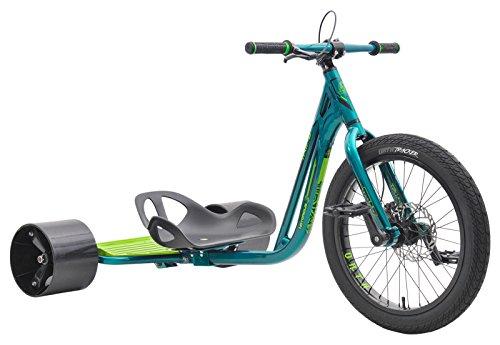 Triad Drift Trikes Notorious 3 Velo Enfant Mixte Adulte, Vert/Vert